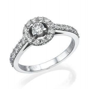 טבעת SMALL HALO