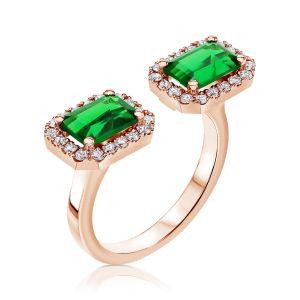 טבעת אמרלדים