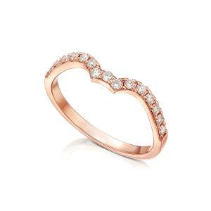 טבעת שורה מעוצבת