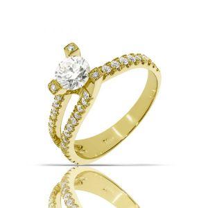 טבעת טוויסט 3 שיניים